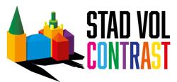 Stad vol contrast Logo